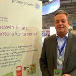 Pitney Bowes viste fram effektiv Horizon-maskin på Sign & Print