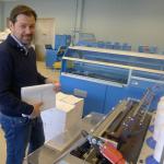 Bokbinderlinje på plass – årskapasitet på en halv million hardcover bøker