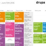 Programmet på Drupa Cube er klart